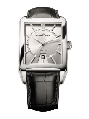 poza Maurice Lacroix Pontos Automatic Steel Silver
