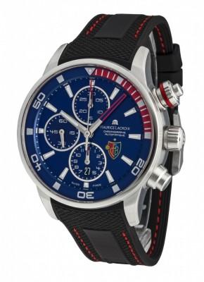 poza Maurice Lacroix Pontos Chronograph FC Basel PT6008SS0014321