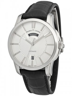 poza ceas Maurice Lacroix Pontos Day-Date Steel
