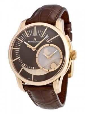 poza ceas Maurice Lacroix Pontos Decentrique GMT Rose Gold