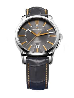 poza ceas Maurice Lacroix Pontos Limited Steel Grey
