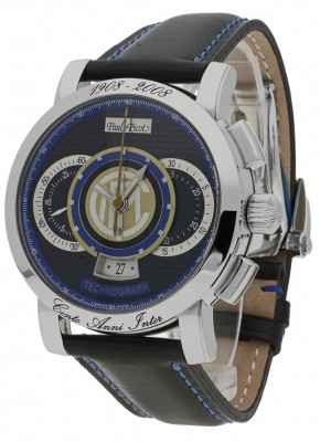 poza Paul Picot Technograph FC Internazionale Limited Edition P0334.SG.3401INTER