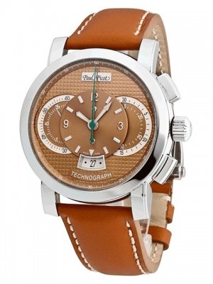 poza Paul Picot Technograph Steel Beige