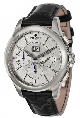 poza ceas Perrelet Chronograph Automatic Big Date Steel
