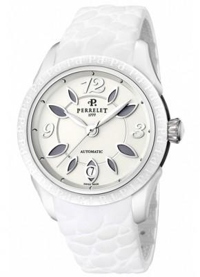 poza ceas Perrelet Eve Classic Steel White