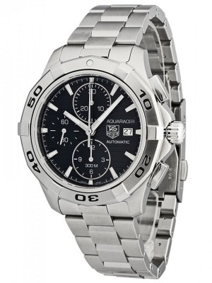 poza Tag Heuer Aquaracer Automatic Chronograph Steel Black 2