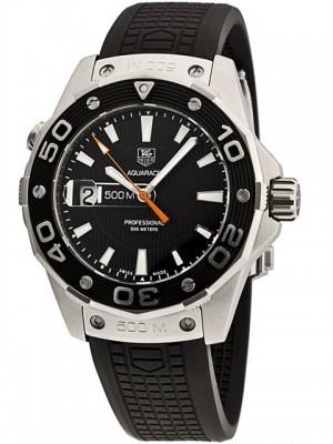 poza ceas Tag Heuer Aquaracer Steel Black 2