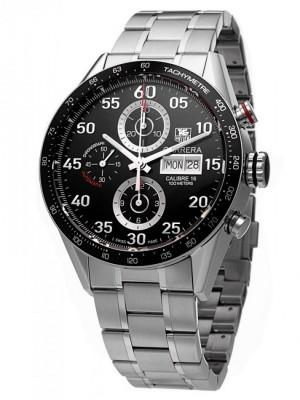 poza Tag Heuer Carrera Chronograph DayDate Steel Black