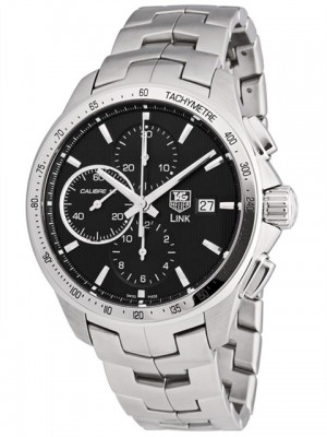poza Tag Heuer Link Automatic Steel Black