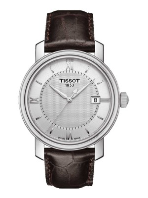 poza Tissot Bridgeport Gent Steel