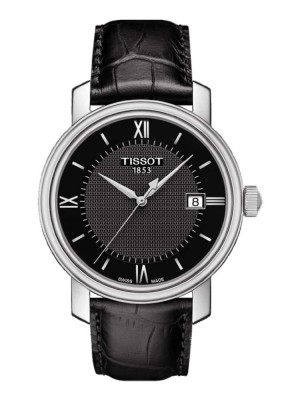 poza Tissot Bridgeport Gent Steel Black