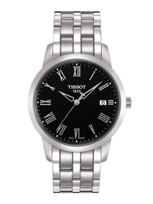 poza Tissot Classic Dream Gent Steel Black