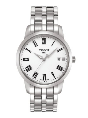 poza Tissot Classic Dream Gent Steel White