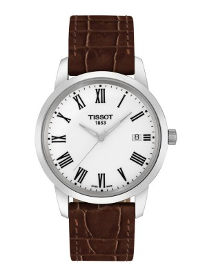 poza Tissot Classic Dream Gent Steel White 2