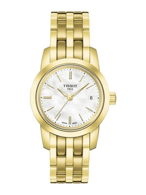 poza Tissot Classic Dream Lady Gold