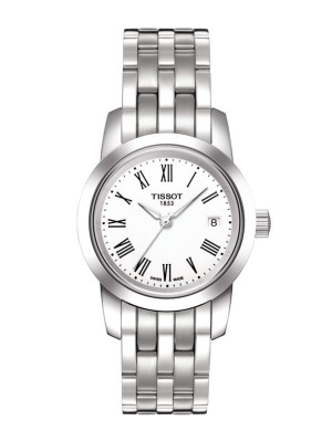 poza Tissot Classic Dream Lady White