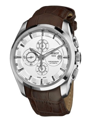 poza Tissot Couturier Automatic Chrono Steel