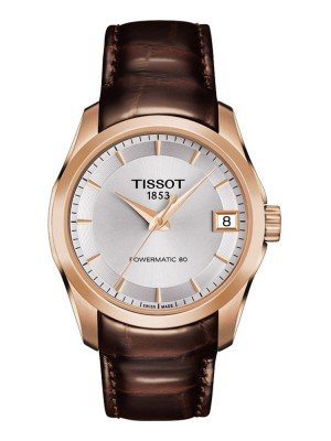 poza Tissot Couturier Automatic Lady Rose