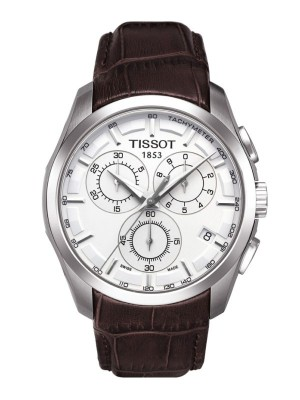poza Tissot Couturier Quartz Chronograph Leather 2