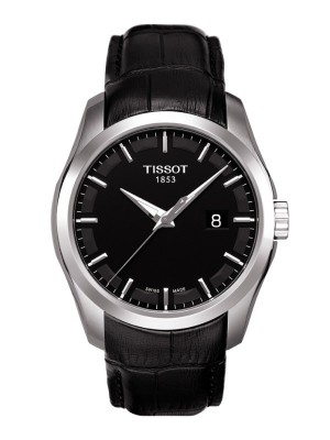 poza Tissot Couturier Quartz Gent Steel Black