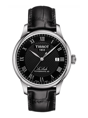 poza Tissot Le Locle Automatic Gent Steel Black 2