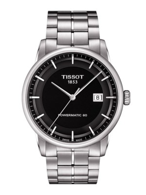 poza Tissot Luxury Automatic Steel Grey