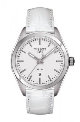 poza Tissot PR 100 Quartz Lady Steel White