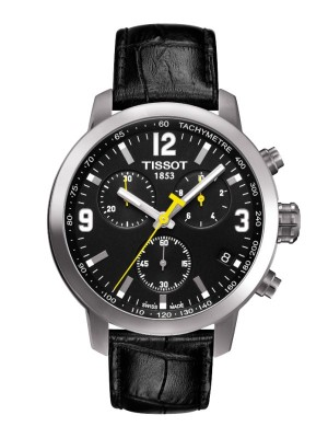 poza Tissot PRC 200 Quartz Chronograph Steel Black