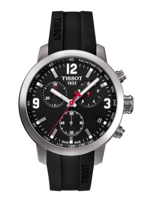 poza Tissot PRC 200 Quartz Chronograph Steel Black 2