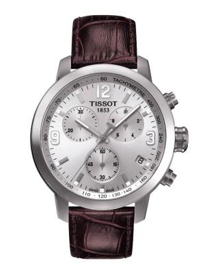 poza Tissot PRC 200 Quartz Chronograph Steel Silver