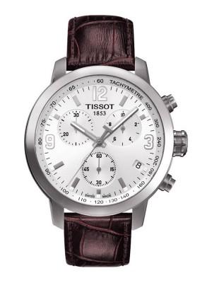 poza Tissot PRC 200 Quartz Chronograph Steel White