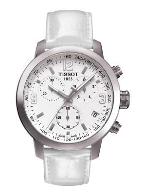 poza Tissot PRC 200 Quartz Chronograph Steel White 2