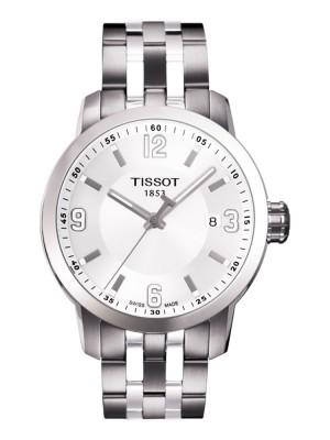 poza Tissot PRC 200 Quartz Gent Steel 2