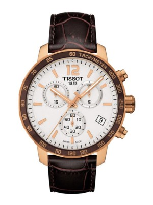 poza Tissot Quickster Chrono Gold