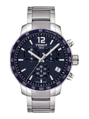 poza Tissot Quickster Chrono Steel Blue