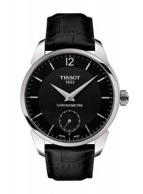 poza Tissot T-Complication COSC Steel Black
