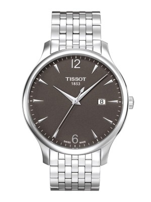 poza Tissot Tradition Gent Steel