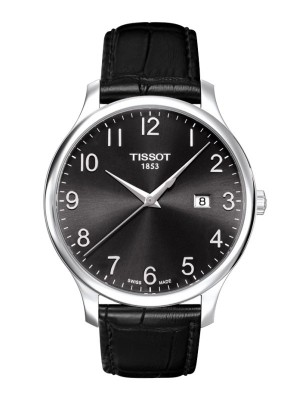 poza Tissot Tradition Gent Steel Black