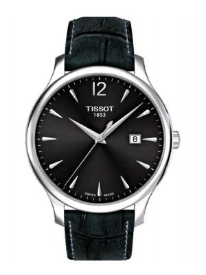 poza Tissot Tradition Gent Steel Black 2