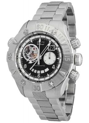 poza ceas Zenith Defy Classic Grande Date Multicity GMT Chronograph 03.0526.403721.M526
