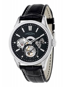Ceas barbatesc Armand Nicolet L08 Small Seconds Steel Black