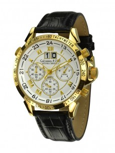 Ceas barbatesc Calvaneo 1583 Astonia Chrono One Gold