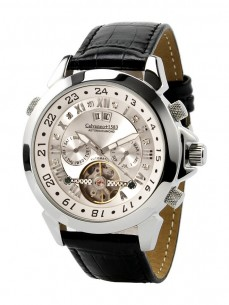 Ceas barbatesc Calvaneo 1583 Astonia Diamond Silver