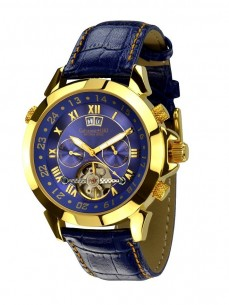 Ceas barbatesc Calvaneo 1583 Astonia Gold Blue