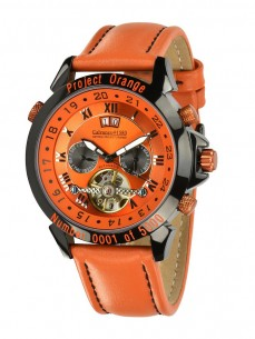 Ceas barbatesc Calvaneo 1583 Astonia Project Orange Limited