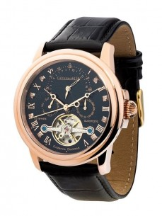 Ceas barbatesc Calvaneo 1583 Evidence Diamond Rose Gold