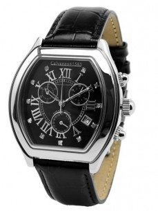 Ceas barbatesc Calvaneo 1583 Prestige Diamond Black