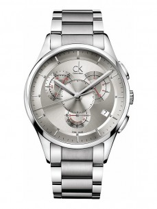 Ceas barbatesc Calvin Klein Basic Chrono Steel