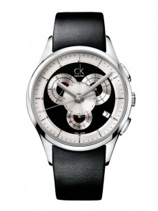 Ceas barbatesc Calvin Klein Basic Chrono Steel Black