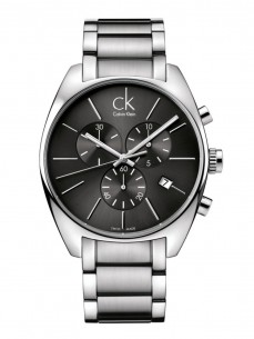 Ceas barbatesc Calvin Klein Exchange Chrono Steel Black